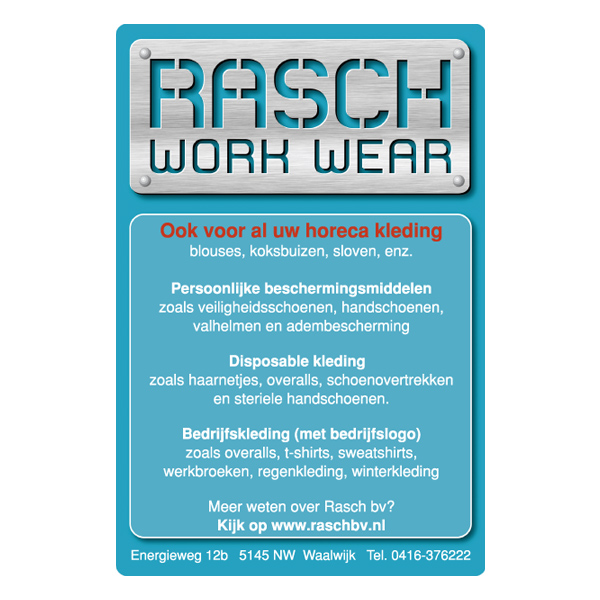 rasch bv - advertentie